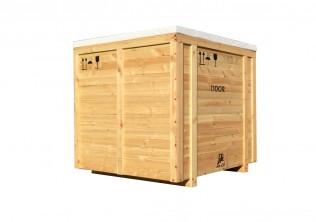 Skrzynia drewaniana transportowa