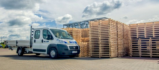 Wooden pallets with IPPC certificate